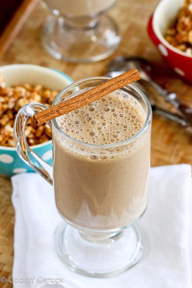 Healthy Smoothie Recipes - Healthy Coffee Banana Smoothie - Easy ideas perfect for breakfast, energy. Low calorie and high protein recipes for weightloss and to lose weight. Simple homemade recipe ideas that kids love. Quick EASY morning recipes before work and school, after workout http://diyjoy.com/healthy-smoothie-recipes