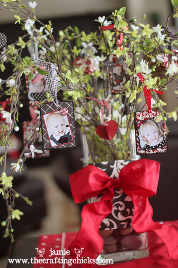 DIY Valentine Decor Ideas - Love Tree Centerpiece - Cute and Easy Home Decor Projects for Valentines Day Decorating - Best Homemade Valentine Decorations for Home, Tables and Party, Kids and Outdoor - Romantic Vintage Ideas - Cheap Dollar Store and Dollar Tree Crafts http://diyjoy.com/easy-valentine-decorations