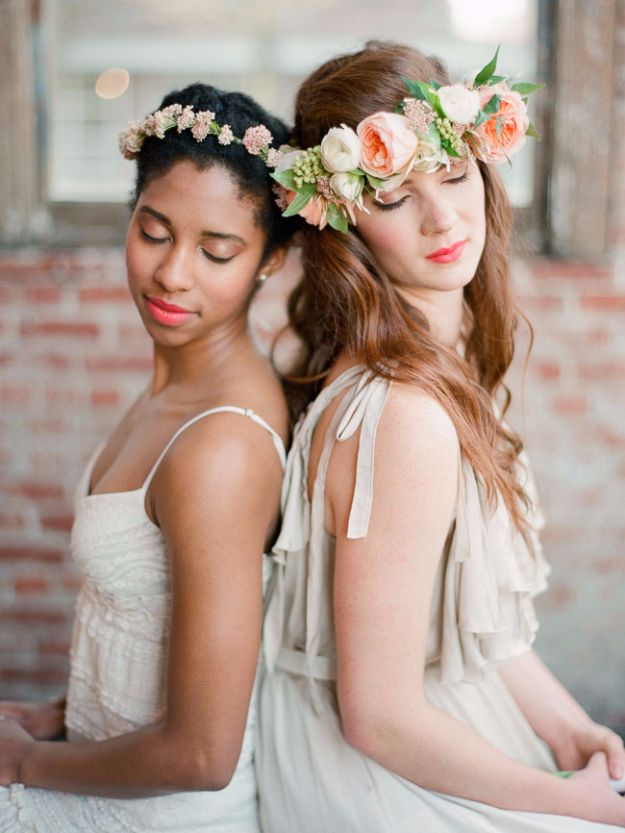DIY Outdoors Wedding Ideas - DIY Spring Flower Crown - Step by Step Tutorials and Projects Ideas for Summer Brides - Lighting, Mason Jar Centerpieces, Table Decor, Party Favors, Guestbook Ideas, Signs, Flowers, Banners, Tablecloth and Runners, Napkins, Seating and Lights - Cheap and Ideas DIY Decor for Weddings http://diyjoy.com/diy-outdoor-wedding