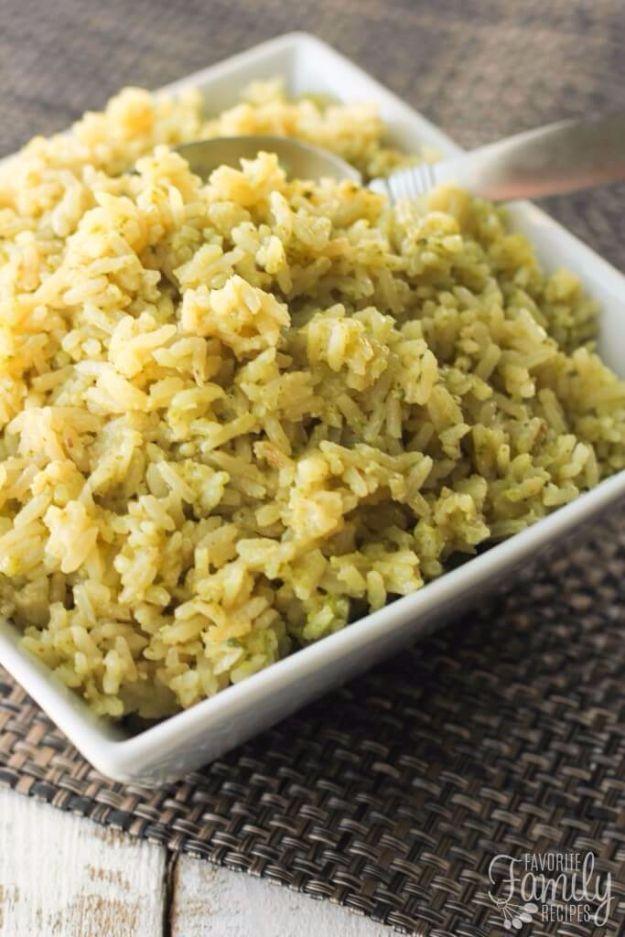 Lemon Pesto Rice