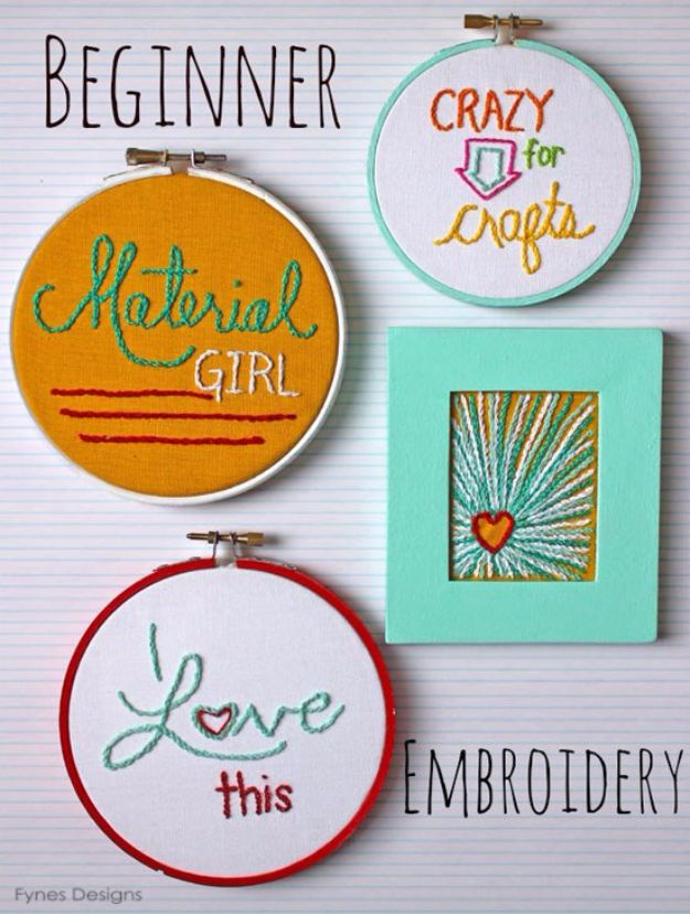 Free Embroidery Patterns - Cheap Art Embroidery - Best Embroidery Projects and Step by Step DIY Tutorials for Making Home Decor, Wall Art, Pillows and Creative Handmade Sewing Gifts - Machine Ideas and Hand Sewn Ideas for Beginners - Quotes, Modern Art, Flowers, Christmas Decor, Kitchen Towels and Easy Applique Designs http://diyjoy.com/free-embroidery-patterns