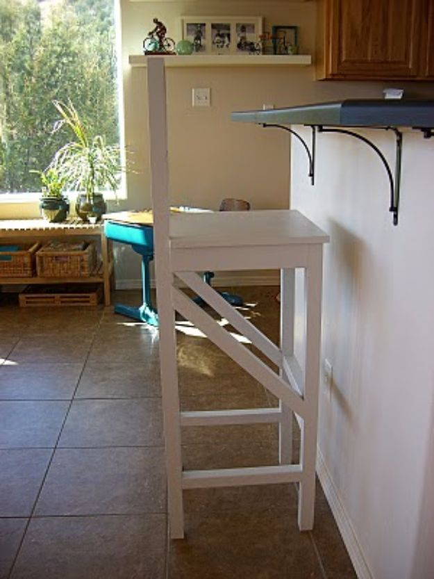 DIY Barstools - Extra Tall Bar Stools - Easy and Cheap Ideas for Seating and Creative Home Decor - Do It Yourself Bar Stools for Modern, Rustic, Farmhouse, Shabby Chic, Industrial and Simple Classic Decor - Do It Yourself Dining Room Seating Complete With Step by Step Tutorials http://diyjoy.com/diy-barstools