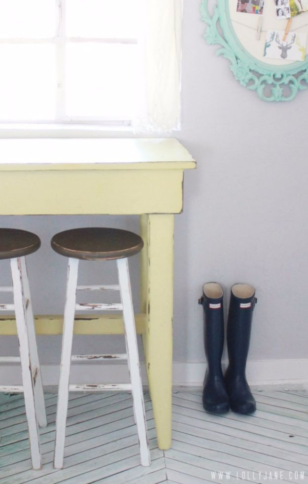 DIY Barstools - Kitchen Bar Stool Reveal - Easy and Cheap Ideas for Seating and Creative Home Decor - Do It Yourself Bar Stools for Modern, Rustic, Farmhouse, Shabby Chic, Industrial and Simple Classic Decor - Do It Yourself Dining Room Seating Complete With Step by Step Tutorials http://diyjoy.com/diy-barstools