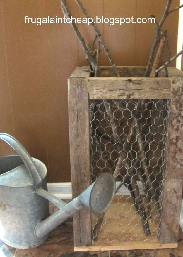 41 Diy Chicken Wire Crafts Rustic Home Decor Ideas