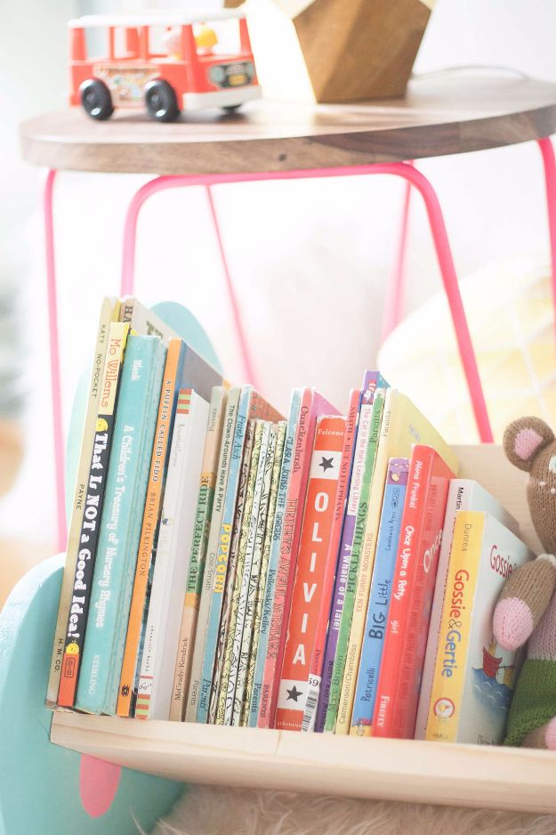 DIY Projects for Readers - DIY Book Bin - Book Storage, Bookmarks, Cool Bookshelves, Creative Projects Made With Books and For Book Lovers - Reading Lights, Bedside Table Ideas - Easy Crafts and DIY Ideas by DIY JOY http://diyjoy.com/diy-projects-for-readers