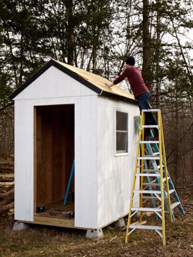 Easy Way Build Shed