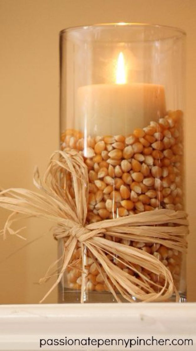 Best Crafts for Fall - $6 Decorating At The Dollar Tree - DIY Mason Jar Ideas, Dollar Store Crafts, Rustic Pumpkin Ideas, Wreaths, Candles and Wall Art, Centerpieces, Wedding Decorations, Homemade Gifts, Craft Projects with Leaves, Flowers and Burlap, Painted Art, Candles and Luminaries for Cool Home Decor - Quick and Easy Projects With Step by Step Tutorials and Instructions http://diyjoy.com/best-crafts-for-fall