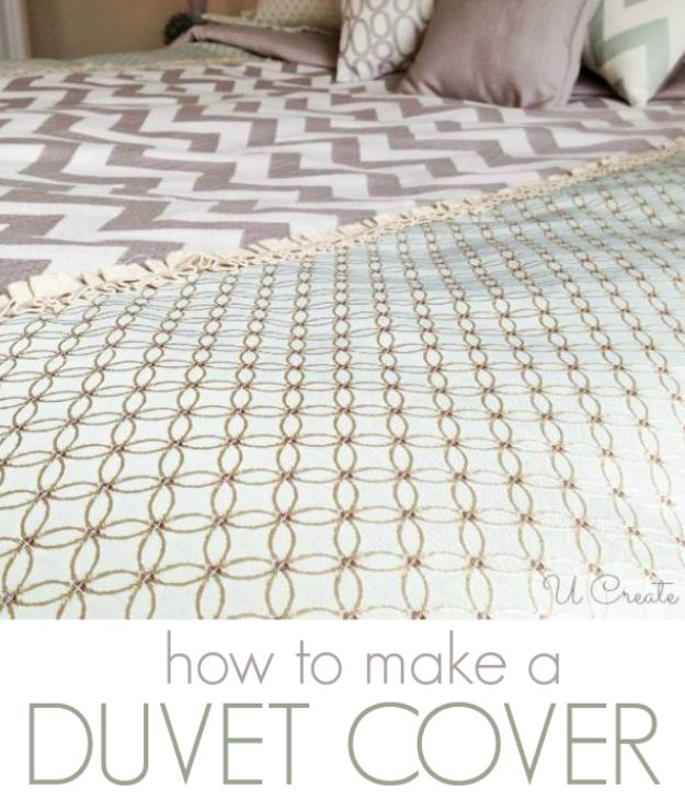 DIY Duvet Covers - Create Your Own Duvet Cover - Easy Sewing Projects and No Sew Ideas for Duvets - Cheap Bedroom Decor Ideas on A Budget - How To Sew A Duvet Cover and Bedding Tutorial - Creative Covers for Bed - Quick Projects for Making Designer Duvets - Awesome Home Decor Ideas and Crafts http://diyjoy.com/diy-duvet-covers