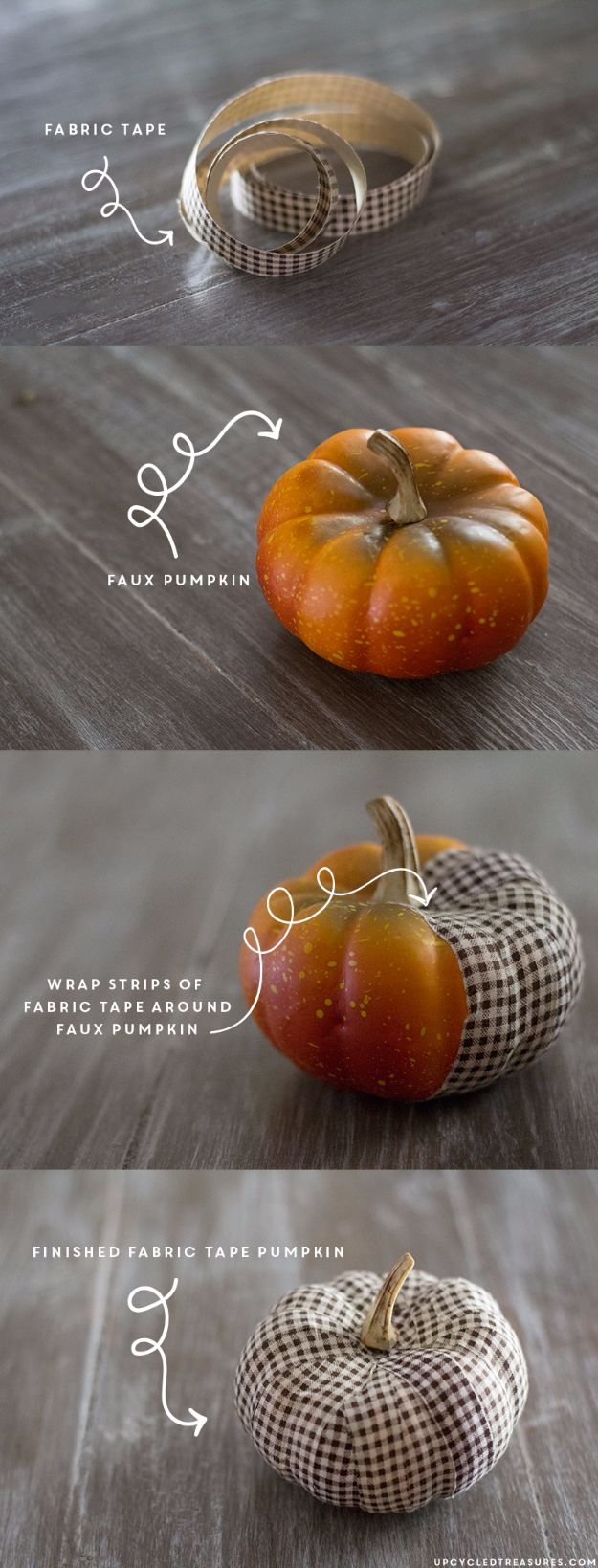 Best Crafts for Fall - DIY Fabric Tape Pumpkin - DIY Mason Jar Ideas, Dollar Store Crafts, Rustic Pumpkin Ideas, Wreaths, Candles and Wall Art, Centerpieces, Wedding Decorations, Homemade Gifts, Craft Projects with Leaves, Flowers and Burlap, Painted Art, Candles and Luminaries for Cool Home Decor - Quick and Easy Projects With Step by Step Tutorials and Instructions http://diyjoy.com/best-crafts-for-fall