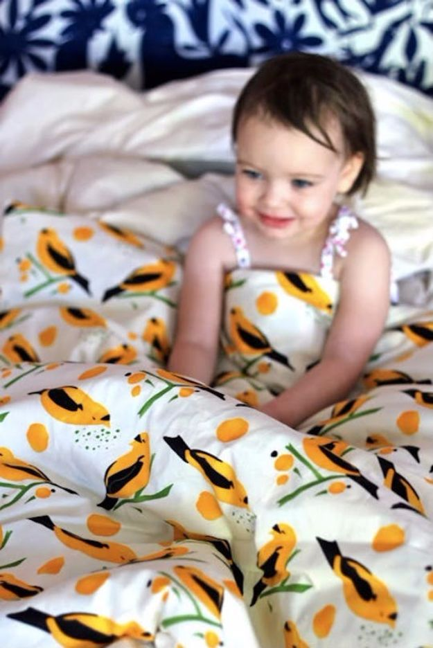 DIY Duvet Covers - Make Your Own Duvet Cover - Easy Sewing Projects and No Sew Ideas for Duvets - Cheap Bedroom Decor Ideas on A Budget - How To Sew A Duvet Cover and Bedding Tutorial - Creative Covers for Bed - Quick Projects for Making Designer Duvets - Awesome Home Decor Ideas and Crafts http://diyjoy.com/diy-duvet-covers