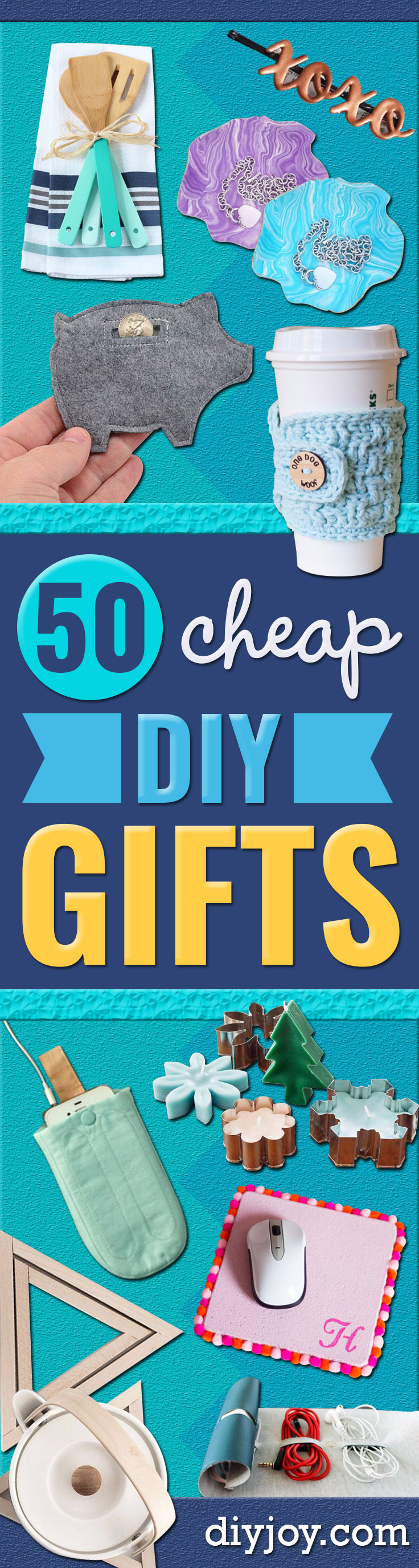 50 Cheap DIY Gifts That Only Look Expensive