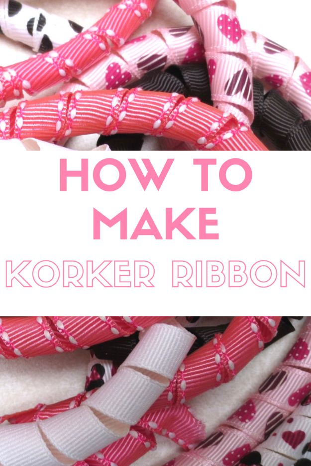 Creative Bows For Packages - Korker Ribbon Bow - Make DIY Bows for Christmas Presents and Holiday Gifts - Cute and Easy Ideas for Making Your Own Bows and Ribbons - Step by Step Tutorials and Instructions for Tying A Bow - Cheap and Crafty Gift Wrapping Ideas on A Budget http://diyjoy.com/diy-bows-gifts-packages