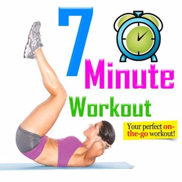 Best Exercises for 2018 - 7-Minute Workout - Easy At Home Exercises - Quick Exercise Tutorials to Try at Lunch Break - Ways To Get In Shape - Butt, Abs, Arms, Legs, Thighs, Tummy http://diyjoy.com/best-at-home-exercises-2018