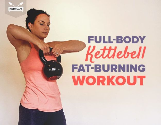 Best Exercises for 2018 - Full-Body Kettlebell Fat-Burning Workout - Easy At Home Exercises - Quick Exercise Tutorials to Try at Lunch Break - Ways To Get In Shape - Butt, Abs, Arms, Legs, Thighs, Tummy http://diyjoy.com/best-at-home-exercises-2018