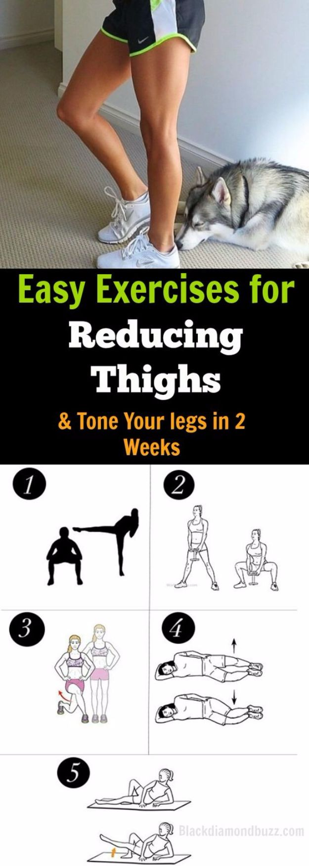 Best Exercises for 2018 - Lose Upper Thigh Fat Fast in 7 Days - Easy At Home Exercises - Quick Exercise Tutorials to Try at Lunch Break - Ways To Get In Shape - Butt, Abs, Arms, Legs, Thighs, Tummy http://diyjoy.com/best-at-home-exercises-2018