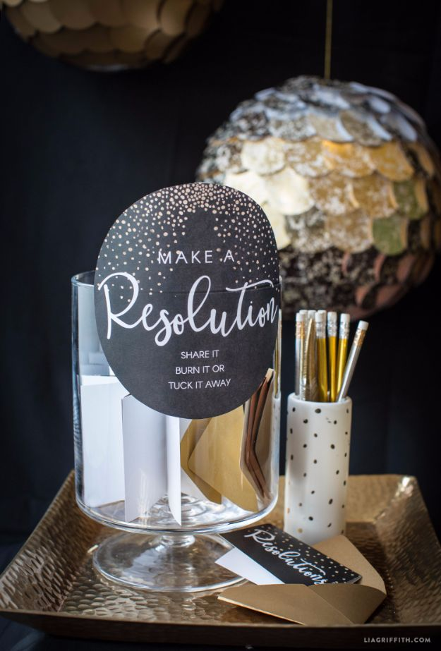 37 DIY New Years Eve Decor Ideas - Diy Crafts Projects ...