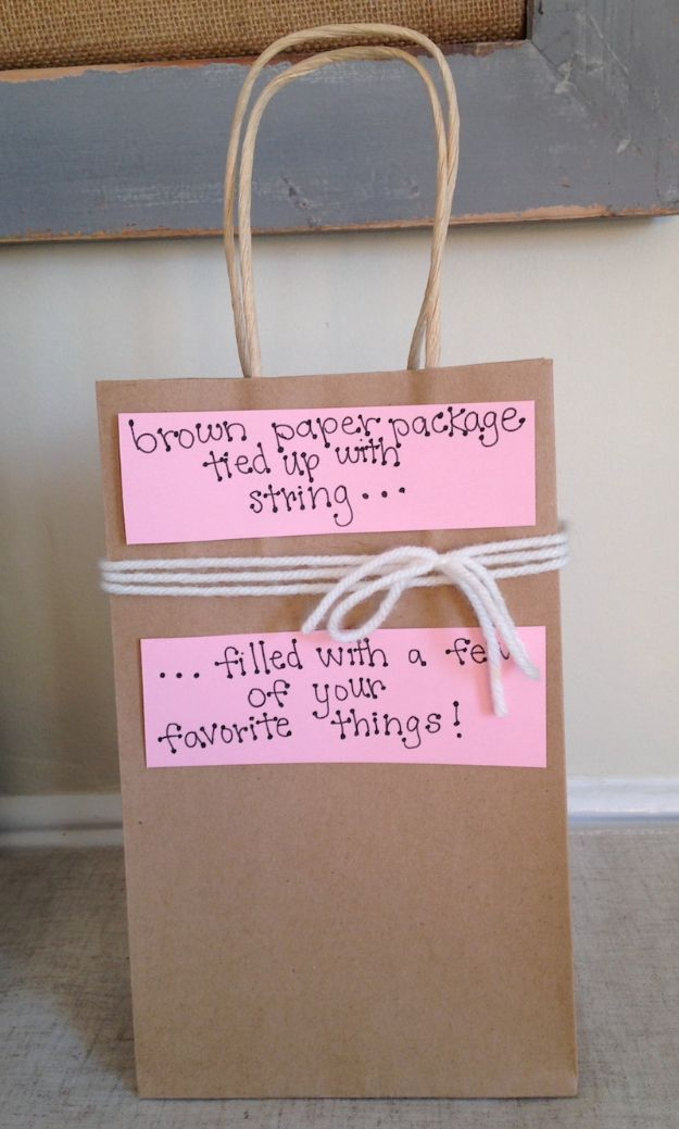 DIY Valentines Day Gifts for Him - Valentine's Day Gift Bag - Cool and Easy Things To Make for Your Husband, Boyfriend, Fiance - Creative and Cheap Do It Yourself Projects to Give Your Man - Ideas Guys Love These Ideas for Car, Yard, Home and Garage - Make, Don't Buy Your Valentine http://diyjoy.com/diy-valentines-gifts-him