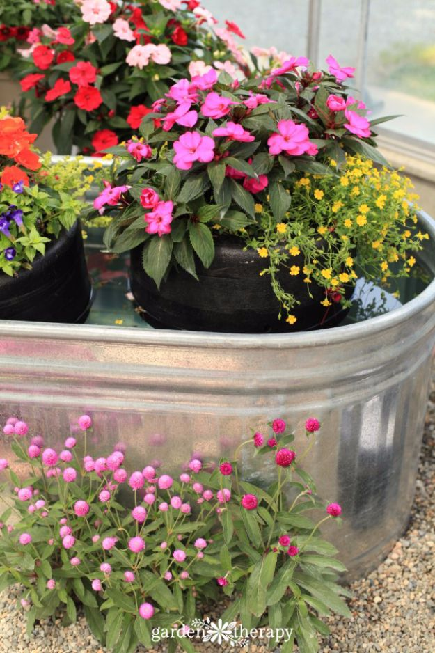 DIY Outdoor Planters - DIY Floating Planter For Water Gardens And Ponds - Easy Planter Ideas to Make for The Porch, Pation and Backyard - Your Plants Will Love These DIY Plant Holders, Potting Ideas and Planter Boxes - Gardening DIY for Big and Small Plants Outdoors - Concrete, Wood, Cheap, Simple, Modern and Rustic Projects With Step by Step Instructions http://diyjoy.com/diy-oudoor-planters