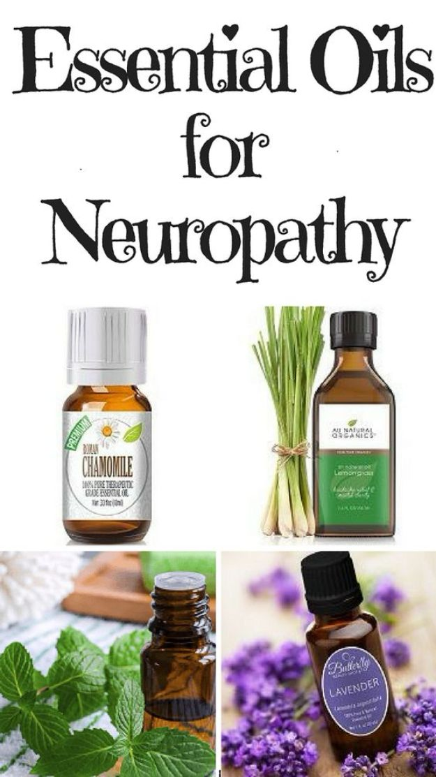 DIY Essential Oil Recipes and Ideas - Essential Oils for Neuropathy - Cool Recipes, Crafts and Home Decor to Make With Essential Oil - Diffuser Projects, Roll On Prodicts for Skin - Recipe Tutorials for Cleaning, Colds, For Sleep, For Hair, For Paint, For Weight Loss http://diyjoy.com/diy-ideas-essential-oils