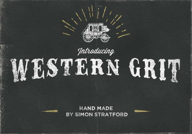 Best Free Fonts To Download for Crafts and DIY Projects - Western Grit - Cute, Cool and Professional Looking Font Ideas for Teachers, Crafters and Wedding Decor - Calligraphy, Script, Sans Serif, Handwriting and Vintage Chalkboard Fonts for A Rustic Look - Fun Cricut and Silhouette Downloads - Printables for Signs and Invitations http://diyjoy.com/best-free-fonts