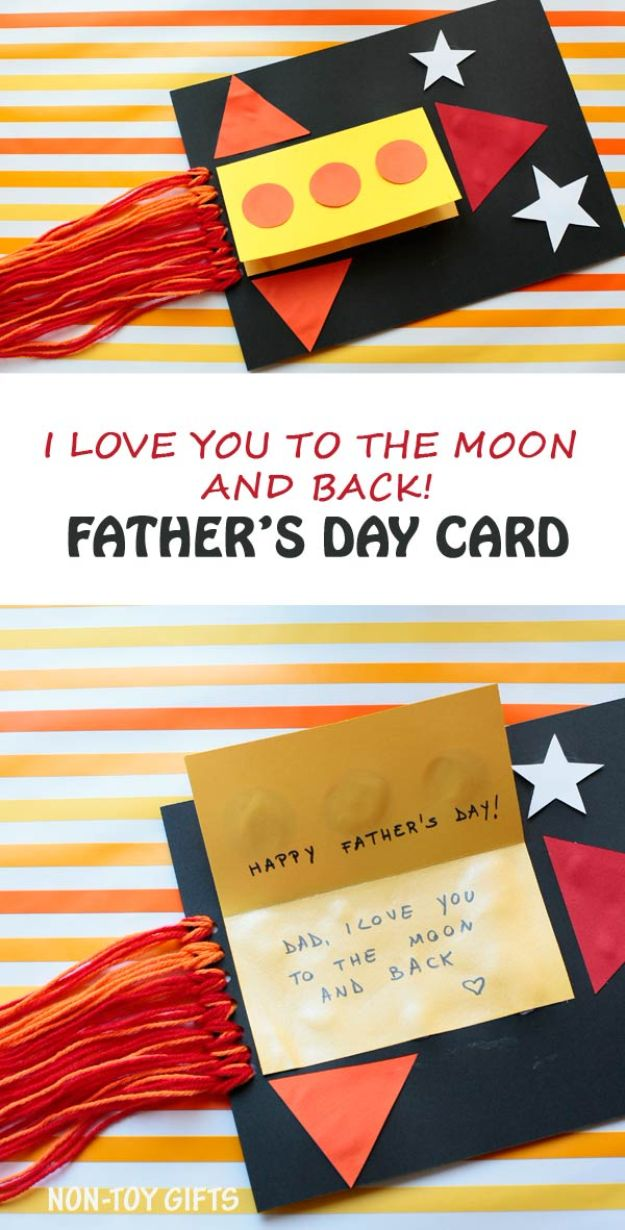 40 Thoughtful DIY Fathers Day Cards