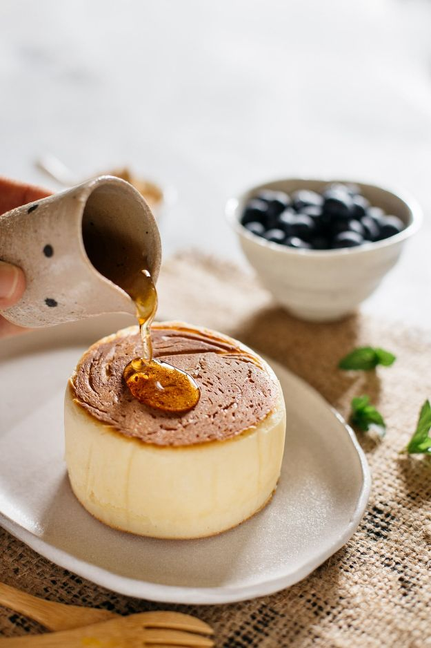 Best Pancake Recipes - Extra Thick and Fluffy Japanese Pancakes - Homemade Pancakes With Banana, Berries, Fruit and Maple Syrup - How To Make Pancake Mix at Home - Gluten Free, Low Fat and Healthy Recipes - Breakfast and Brunch Recipe Ideas - Silver Dollar, Buttermilk, Make Ahead and Quick Versions With Strawberries and Blueberries #pancakes #pancakerecipes #recipeideas #breakfast #breakfastrecipes http://diyjoy.com/pancake-recipes
