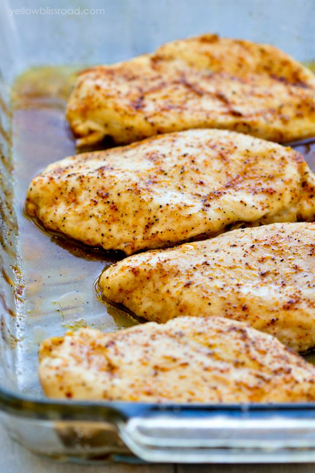 Chicken Breast Recipes - Baked Chicken Breasts - Healthy, Easy Chicken Recipes for Dinner, Lunch, Parties and Quick Weeknight Meals - Boneless Chicken Breast Casserole Recipes, Oven Baked Ideas, Crockpot Chicken Breasts, Marinades for Grilled Foods, Salads, Shredded Chicken Tacos, Creamy Pasta, Keto and Low Carb, Mexican, Asian and Italian Food http://diyjoy.com/chicken-breast-recipes