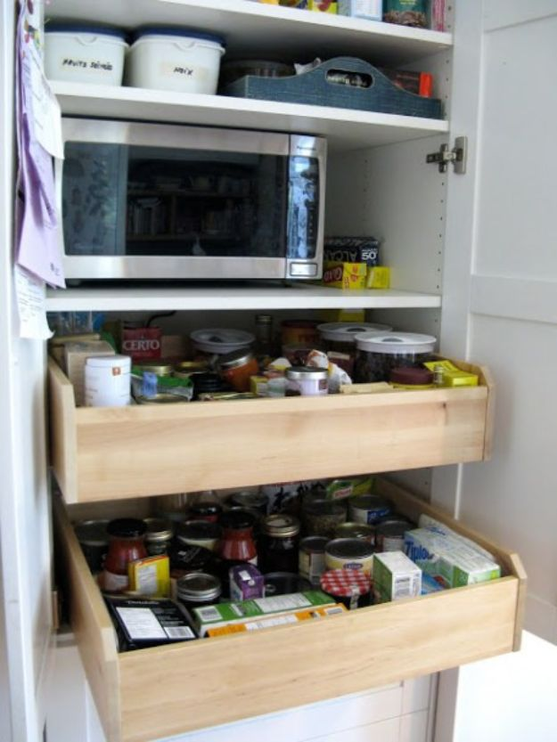 IKEA Hacks for Your Kitchen - Customized Kitchen Pantry - DIY Furniture and Kitchen Accessories Made from IKEA - Kitchen Islands, Cabinets, Table, Pantry Organization, Storage, Shelves and Counter Solutions - Bar, Buffet and Entertaining Ideas - Easy Projects With Step by Step Tutorials and Instructions to Hack IKEA items http://diyjoy.com/ikea-hacks-kitchen #ikeahacks #diyhomedecor #diyideas #diykitchen