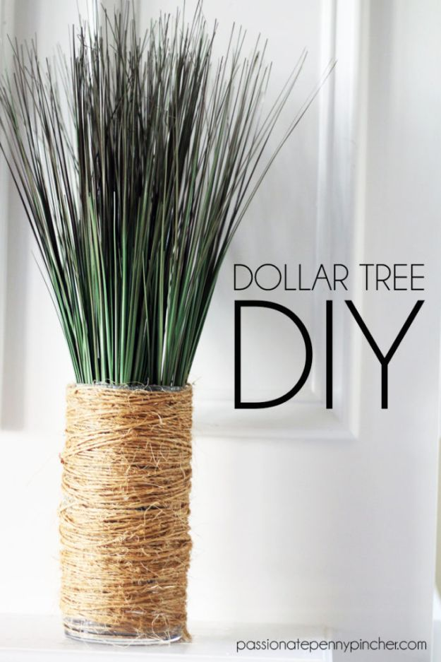Dollar Tree Crafts - Dollar Tree DIY - DIY Ideas and Crafts Projects From Dollar Tree Stores - Easy Organizing Project Tutorials and Home Decorations- Cheap Crafts to Make and Sell - Organization, Summer Parties, Christmas and Wedding Decor on A Budget - Fun Crafts for Kids and Teens from Dollar Store Items #dollarstore #dollartree #dollarstorecrafts #cheapcrafts #crafts #diy #diyideas http://diyjoy.com/dollar-tree-crafts