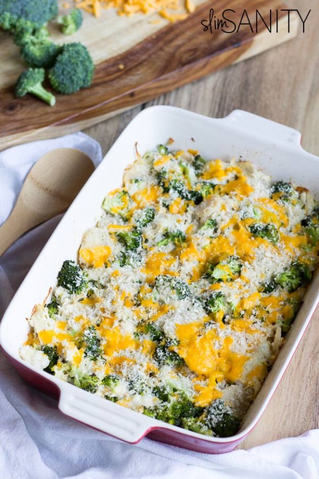 Best Casserole Recipes - Healthy Broccoli Chicken Casserole - Healthy One Pan Meals Made With Chicken, Hamburger, Potato, Pasta Noodles and Vegetable - Quick Casseroles Kids Like - Breakfast, Lunch and Dinner Options - Mexican, Italian and Homestyle Favorites - Party Foods for A Crowd and Potluck Dishes http://diyjoy.com/best-casserole-recipes