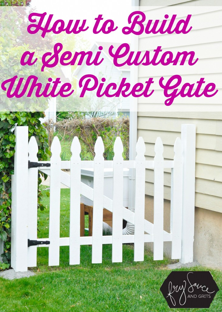 DIY Fences and Gates - Perfect DIY White Picket Fence - How To Make Easy Fence and Gate Project for Backyard and Home - Step by Step Tutorial and Ideas for Painting, Updating and Making Fences and DIY Gate - Cool Outdoors and Yard Projects http://diyjoy.com/diy-fences- gates