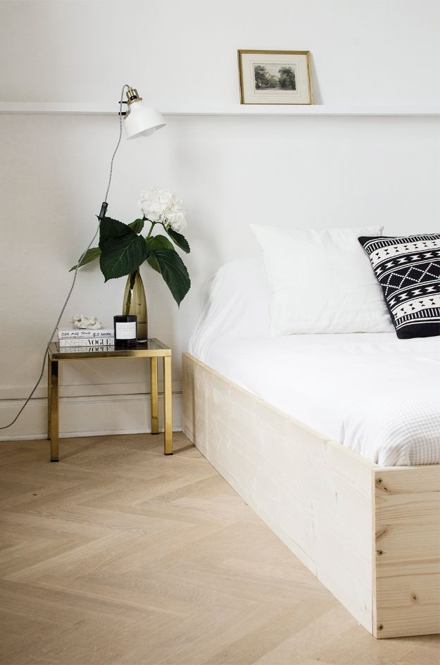 34 Diy Bed Frames To Make Your Bedroom Furniture Dreams