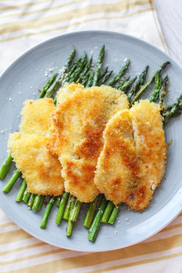 Tilapia Recipes - Simple Panko Crusted Tilapia - Best Recipe Ideas for Tilapia Fish - Dinner, Lunch, Snacks and Appetizers - Healthy Foods, Gluten Free Low Carb and Keto Friendly Dishes - Salads, Pastas and Easy Weeknight Dinners, Lunches for Work - Broiled, Grilled, Lemon Baked, Fried and Quick Ways to Make Tilapia http://diyjoy.com/tilapia-recipes