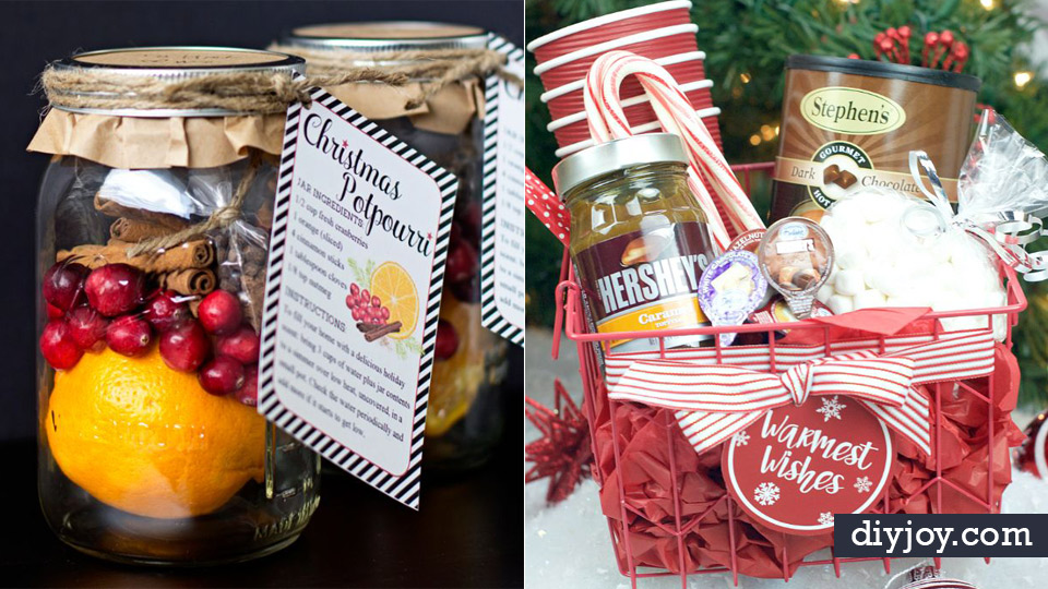 DIY Christmas Gifts - Easy Handmade Gift Ideas for Xmas Presents - Cheap Projects to Make for Holiday Gift Giving - Mom, Dad, Boyfriend, Girlfriend, Husband, Wife #diygifts #christmasgifts https://diyjoy.com/diy-christmas-gifts