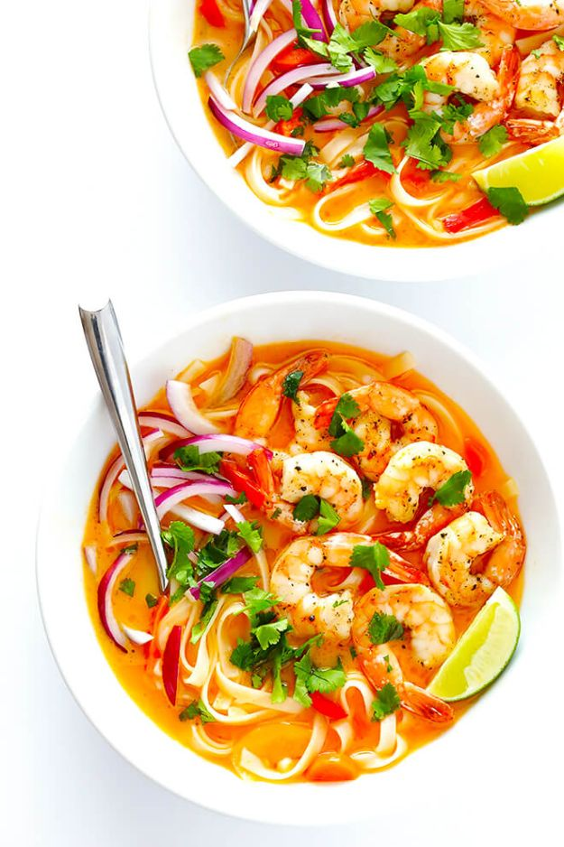 Recipes for Clean Eating - Comforting Curry Noodle Bowls - Raw and Whole Foods, Unprocessed Meal and Snack Ideas for Lunch and Dinner - Fresh, Healthy Foods and Recipe Ideas