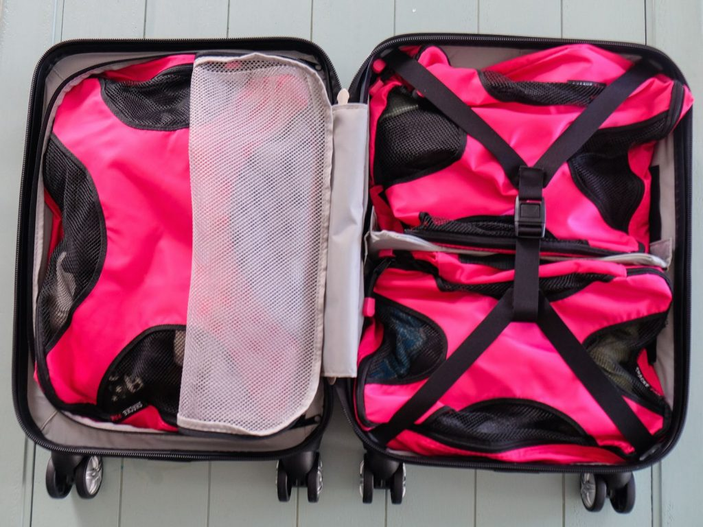Packing Hacks for Travel - Try A Clam Shell Suitcase - How to Pack and Fold Clothes, Save Space in Suitcase - Tips and Tricks for Shoes, Makeup, Toiletries, Carry On Luggage for Trips