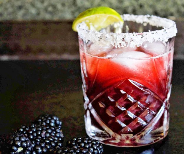 Margarita Recipes - Blackberry Lemonade Margaritas - Drink Recipes for a Party - Recipe Ideas for Blender Margaritas - Lime, Strawberry, Fruit | Easy Drinks With Tequila