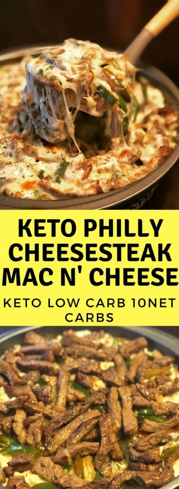 Mac and Cheese Recipes | Keto Philly Cheesesteak Mac n' Cheese - Easy Recipe Ideas for Macaroni and Cheese - Quick Side Dishes