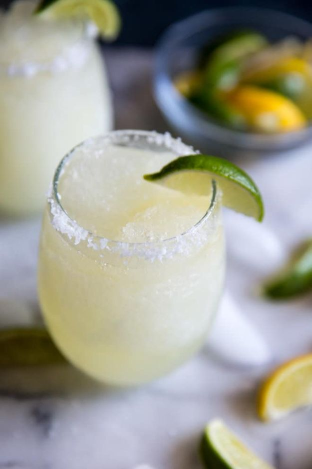 Margarita Recipes - Margarita Slush - Drink Recipes for a Party - Recipe Ideas for Blender Margaritas - Lime, Strawberry, Fruit | Easy Drinks With Tequila