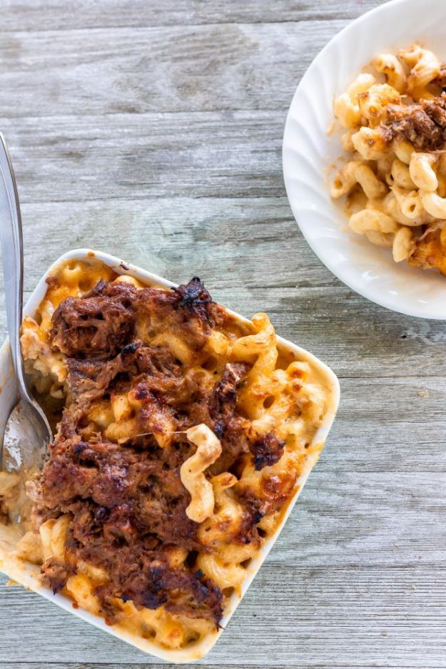 Mac and Cheese Recipes | Pulled Pork Mac and Cheese - Easy Recipe Ideas for Macaroni and Cheese - Quick Side Dishes