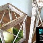 Farmhouse Diy 3 Dollar Tree Rustic Lantern