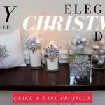 Diy Videos Diy Elegant Christmas Decorations Dollar Tree Christmas Diy Diy Loop Leading Diy Craft Inspiration Magazine Database