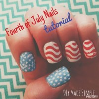 DIY: Fourth of July Nails