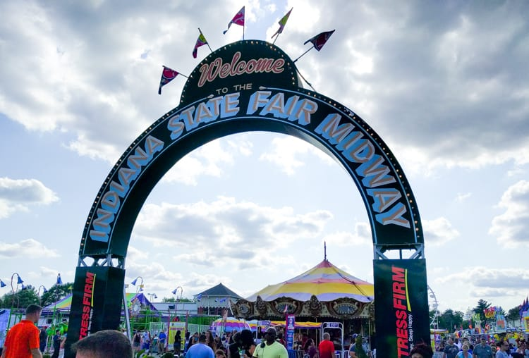 Image result for kids at indiana state fair