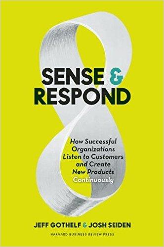 """What to Read in June: """"Sense & Respond"""" by Jeff Gothelf & Josh Seiden"""