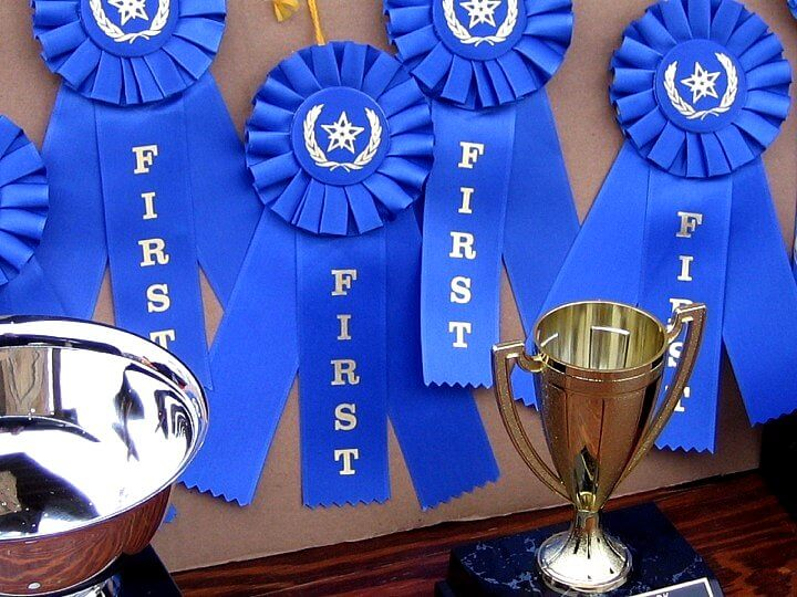 facebook contest blue ribbon