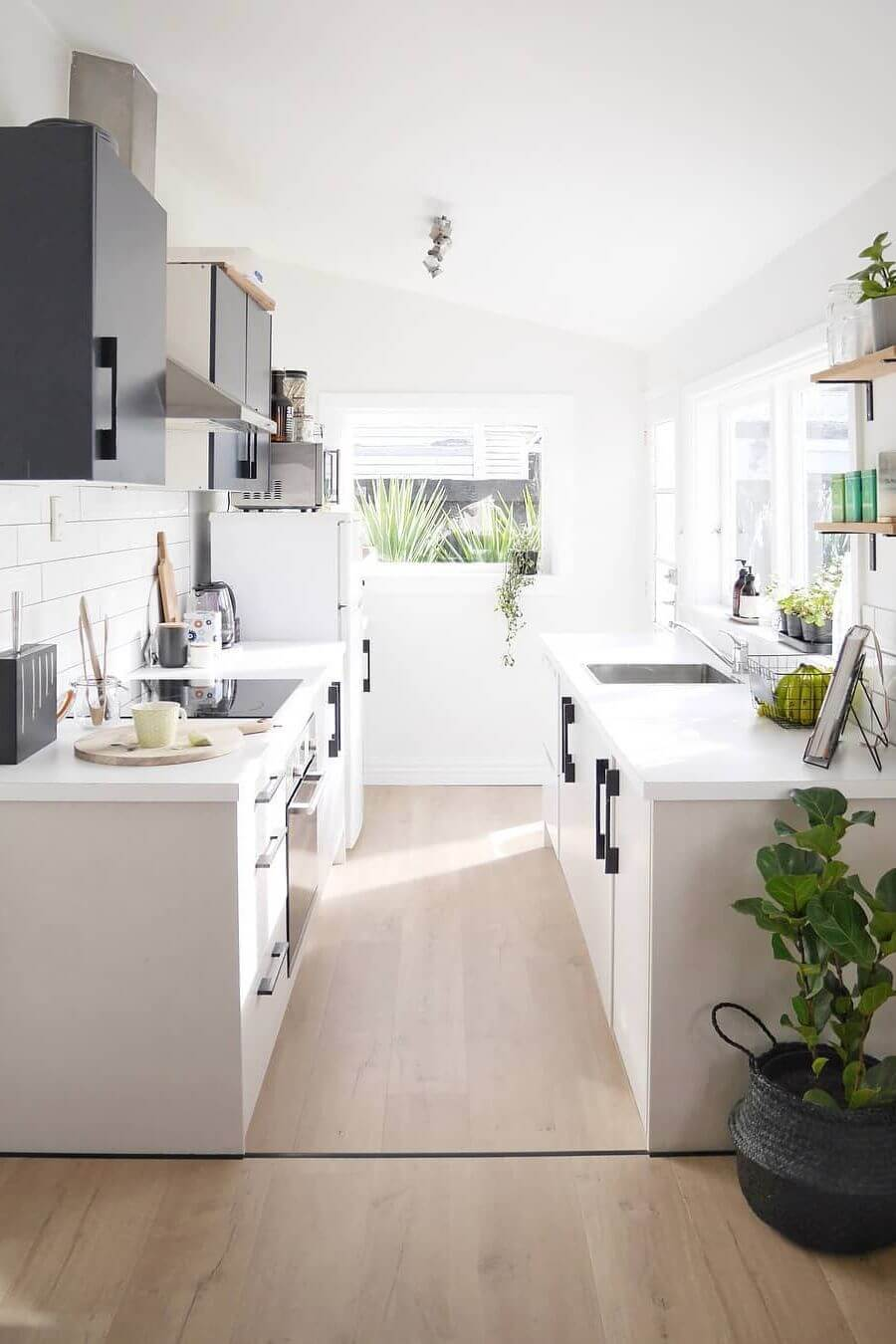 41+ Best Galley Kitchen Designs & Ideas For Rooms of All ... on Kitchen Ideas  id=75645