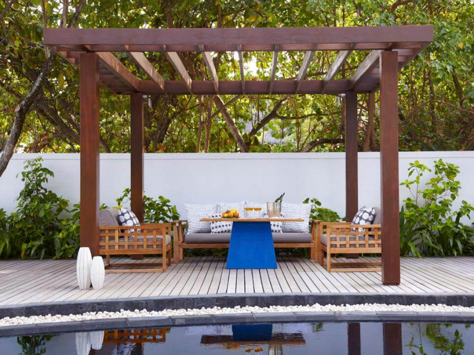 52+ Cheap DIY Pergola Ideas & Plans for Your Backyard and ... on Open Backyard Ideas id=97421