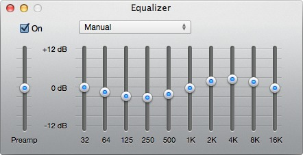 iTunesEqualizer 1 Make your shows shine with these simple EQ tricks