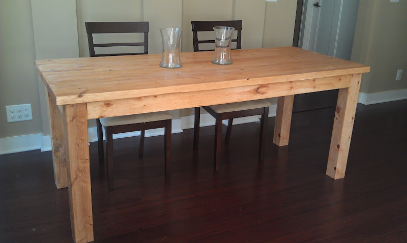 Diy Farmhouse Dining Table Plans Wooden PDF Complete